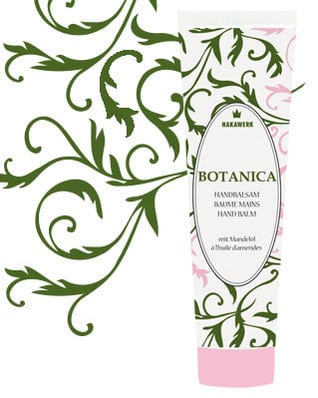 crème pour les mains botanica